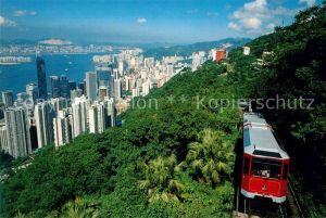 AK / Ansichtskarte Hongkong Peak Tram Hongkong