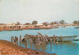 AK / Ansichtskarte Banjul Port de peche cote marche Banjul