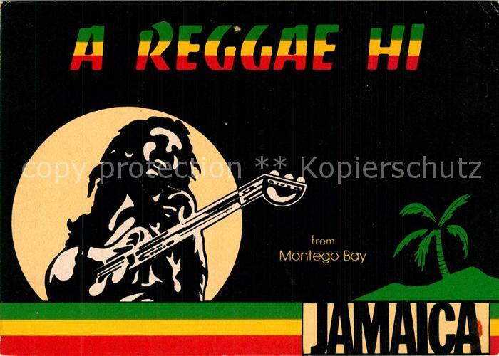 AK / Ansichtskarte Jamaica_Jamaica Montego Bay A Reggae Hi  Jamaica Jamaica
