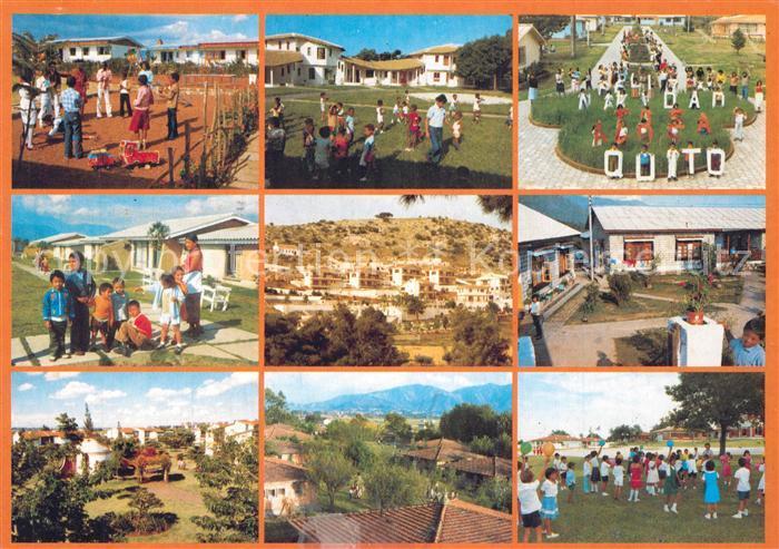 AK / Ansichtskarte Muenchen SOS Kinderdoerfer Nairobi Addis Abeba Rio de Janeiro Muenchen