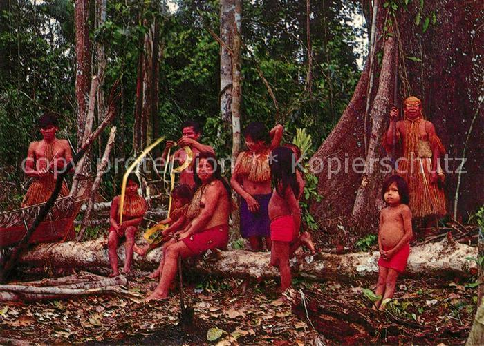 AK / Ansichtskarte Iquitos Familia Yagua del Alto Amazonas Iquitos