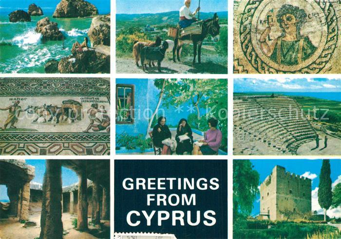 AK / Ansichtskarte Cyprus_Zypern Sehenswuerdigkeiten Cyprus Zypern