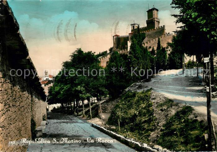 AK / Ansichtskarte San Marino La Rocca San Marino