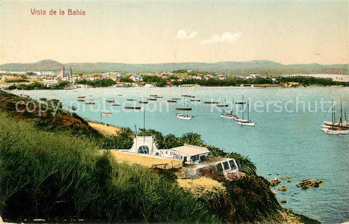 AK / Ansichtskarte Mazatlan Vista de la Bahia Mazatlan