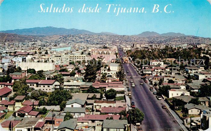 AK / Ansichtskarte Tijuana Panorama Baja California Norte Tijuana