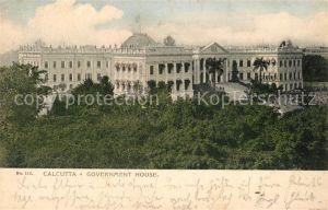 AK / Ansichtskarte Calcutta Government House Calcutta
