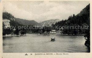 AK / Ansichtskarte Villers le Lac Bassins du Doubs Denier Bassin Villers le Lac