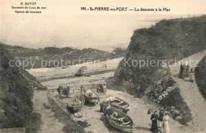 AK / Ansichtskarte Saint Pierre en Port La descente al la Mer Saint Pierre en Port