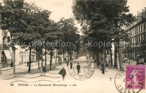 AK / Ansichtskarte Tours_Indre et Loire Boulevard Heurteloup Tours Indre et Loire