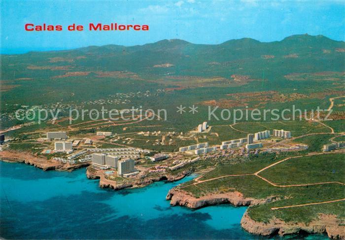 AK / Ansichtskarte Calas_de_Mallorca Fliegeraufnahme Calas_de_Mallorca