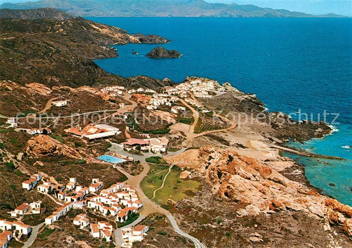 AK / Ansichtskarte Costa_Brava Fliegeraufnahme Cabo Creus Costa_Brava