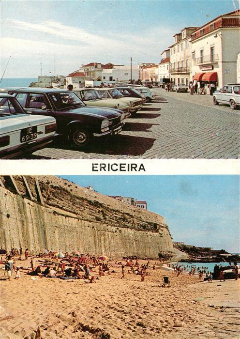 AK / Ansichtskarte Ericeira Stadtansicht Strand Ericeira