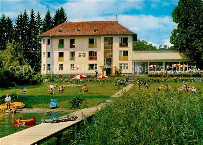 AK / Ansichtskarte Reifnitz_Woerthersee Hotel Pension Taffent Reifnitz Woerthersee