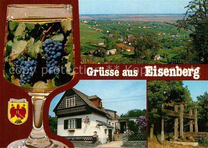 AK / Ansichtskarte Eisenberg_Burgenland Heuriger Herrmann Panorama Eisenberg_Burgenland