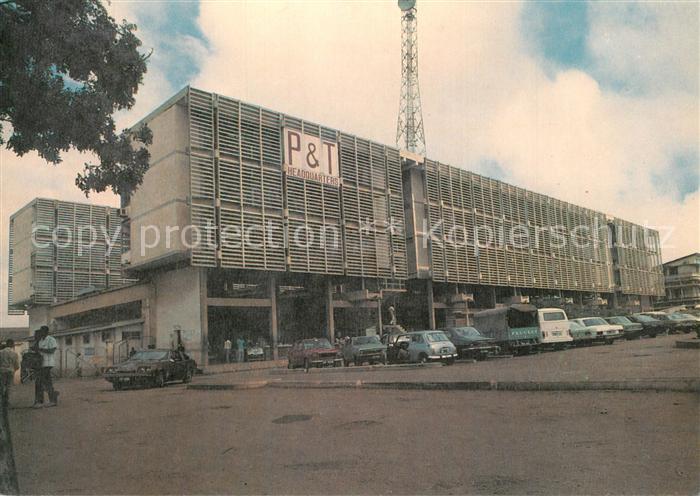 AK / Ansichtskarte Accra National Headquarters Ghana P & T Corp. Accra