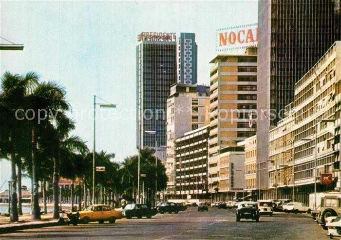 AK / Ansichtskarte Luanda_Loanda Avenida Paulo Dias de Novais Luanda Loanda