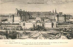 AK / Ansichtskarte Anet Chateau  Anet