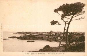 AK / Ansichtskarte Ile de Brehat Vue sur Rolosquet Ile de Brehat