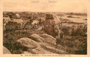 AK / Ansichtskarte Ile de Brehat Panorama vue prise de Ker Briant Ile de Brehat