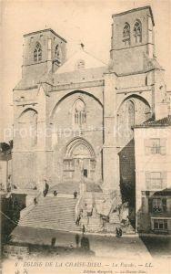 AK / Ansichtskarte La_Chaise Dieu Eglise facade La_Chaise Dieu