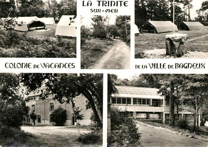 AK / Ansichtskarte La_Trinite sur Mer Colonie de Vacances de la Ville de Bagneux La_Trinite sur Mer