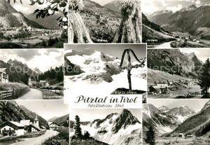 AK / Ansichtskarte Pitztal Ortschaften der Region Landschaftspanorama Alpen Pitztal