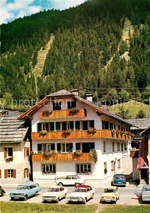 AK / Ansichtskarte Techendorf_Weissensee Pension Haus Knaller Moed Techendorf Weissensee