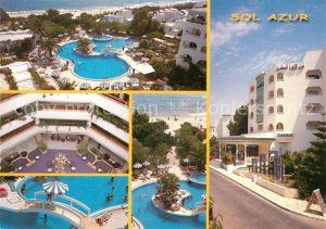 AK / Ansichtskarte Hammamet Hotel Sol Azur Swimming Pool Hammamet