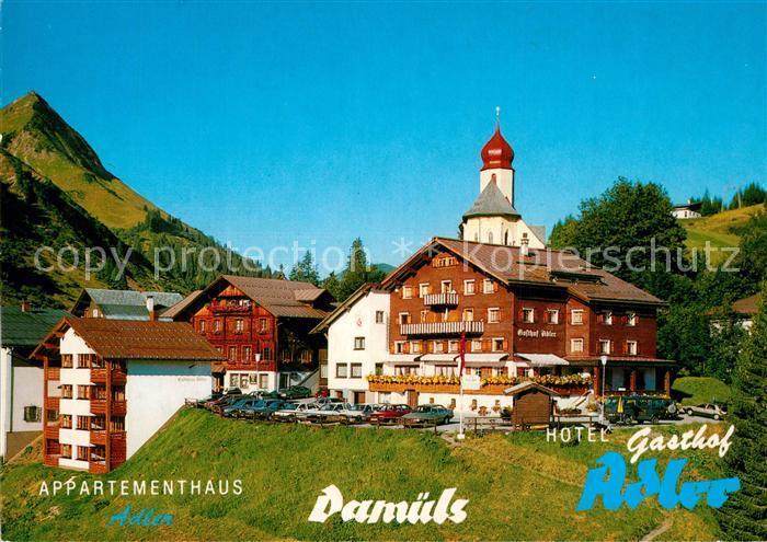 AK / Ansichtskarte Damuels_Vorarlberg Appartementhaus Gasthof Adler  Damuels Vorarlberg