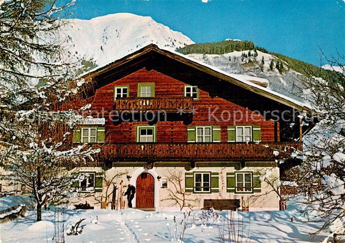 AK / Ansichtskarte Rauris Pension Bergkristall Rauris