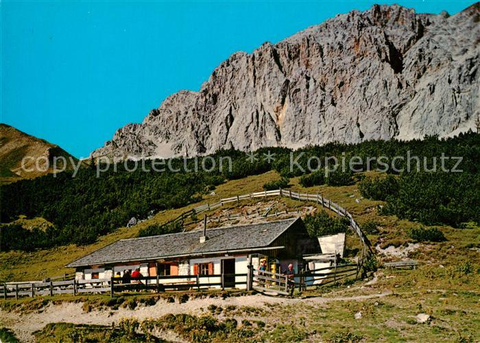 AK / Ansichtskarte Ehrwald_Tirol Rotmoosalm Gaistal  Ehrwald Tirol