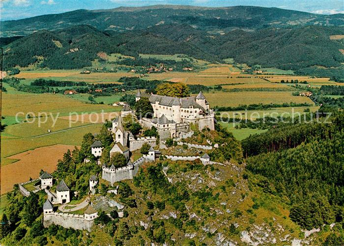 AK / Ansichtskarte Hochosterwitz_Burg Fliegeraufnahme Hochosterwitz_Burg