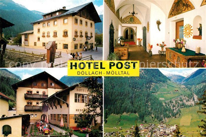 AK / Ansichtskarte Doellach_Kaernten Hotel Post Doellach_Kaernten