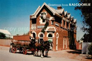 AK / Ansichtskarte Kalgoorlie Bierkutsche British Arms Kalgoorlie