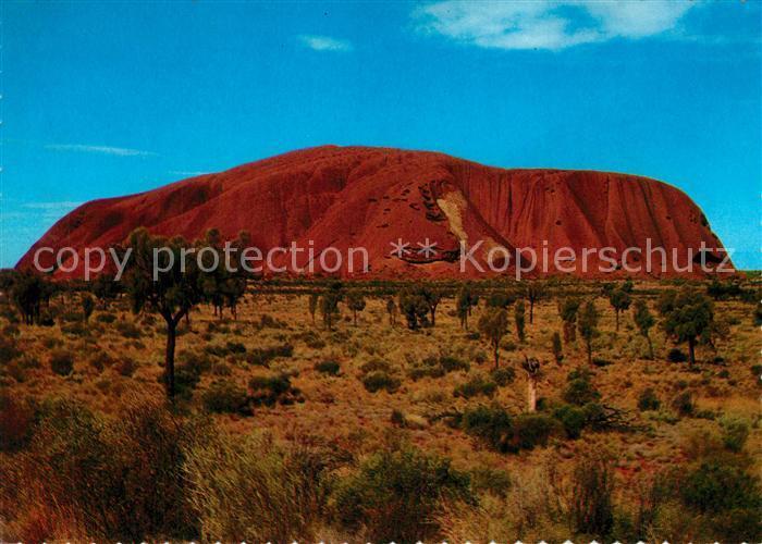 AK / Ansichtskarte Australien Ayers Rock Australien