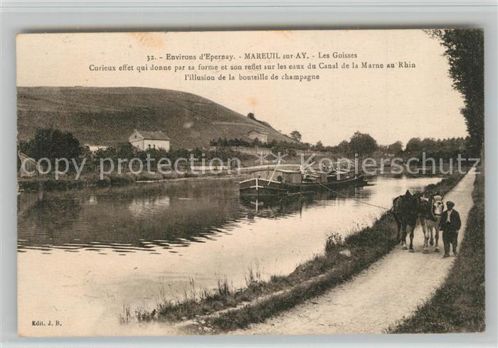 AK / Ansichtskarte Mareuil sur Ay Les Goisses Mareuil sur Ay