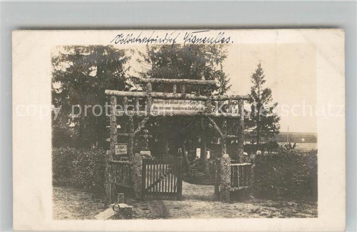 AK / Ansichtskarte Vigneulles les Hattonchatel Friedhofseingang Vigneulles les Hattonchatel