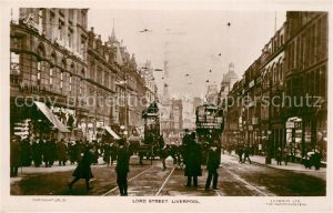 AK / Ansichtskarte Liverpool Lord Street Liverpool