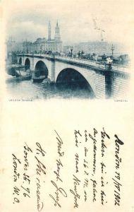 AK / Ansichtskarte London The London Bridge London