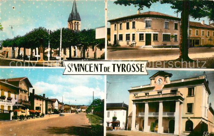 AK / Ansichtskarte Saint Vincent de Tyrosse  Saint Vincent de Tyrosse