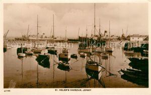 AK / Ansichtskarte Jersey_UK St Heliers Harbour Jersey_UK