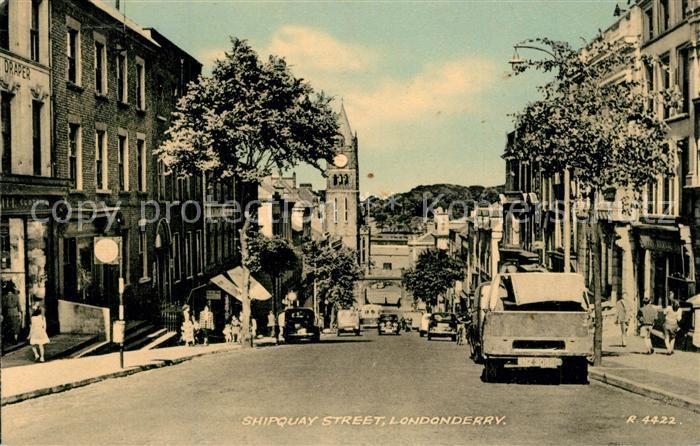 AK / Ansichtskarte Londonderry_Derry Shipquay Street