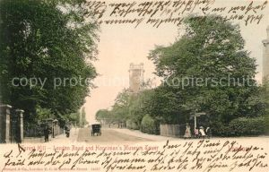 AK / Ansichtskarte London Forest Hill London Road and Hornimans Museum Tower London