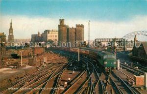 AK / Ansichtskarte Newcastle_upon_Tyne Railway Crossing