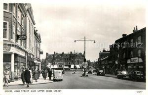 AK / Ansichtskarte Epsom_Ewell High Street and Upper High Street