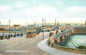 AK / Ansichtskarte Belfast Queens Bridge Belfast