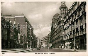 AK / Ansichtskarte London Brompton Road London
