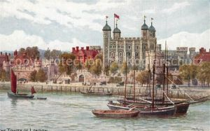 AK / Ansichtskarte London The Tower of London London