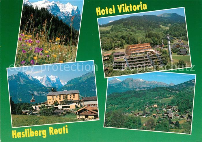 AK / Ansichtskarte Hasliberg_Reuti Hotel Viktoria Panorama Hasliberg Reuti