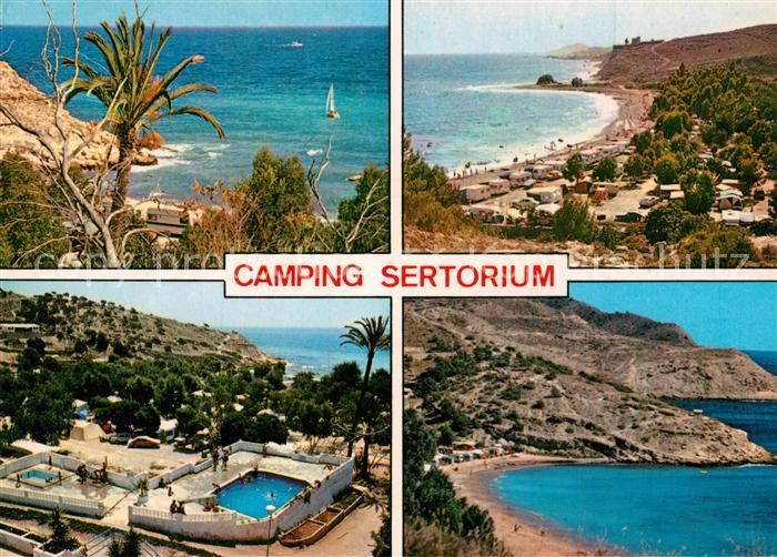 AK / Ansichtskarte Villajoyosa Camping Sertorium Villajoyosa